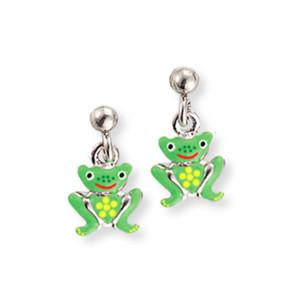 Scout Kinderschmuck Ohrringe Frosch grün