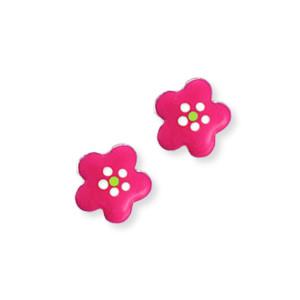 Scout Kinderschmuck Ohrringe Blume pink