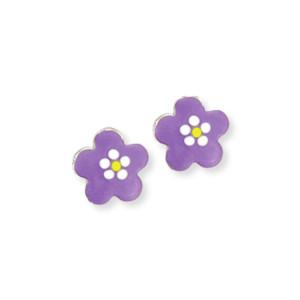 Scout Kinderschmuck Ohrringe Blume lila