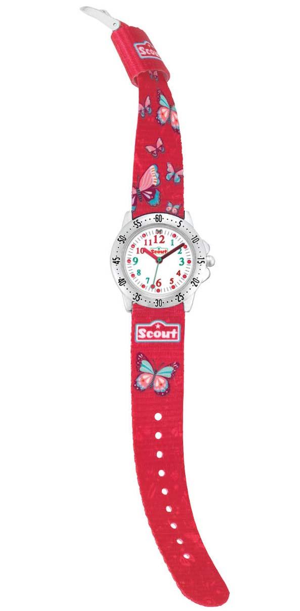 "Armbanduhr kinder scout  Scout Kinder-Armbanduhr des Schulranzen-Modells ""Sweet Butterfly ..."