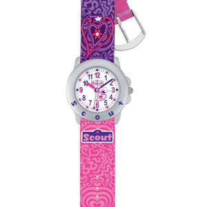 "Scout Kinder-Armbanduhr aus dem Schulranzenmodell ""Pink Lady"""