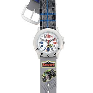 """Scout Kinder-Armbanduhr aus dem Schulranzenmodell """"Monster Truck"""""""