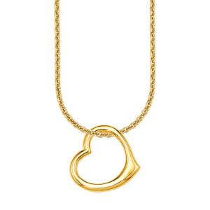 S.Oliver Damenschmuck Halskette gold Herz