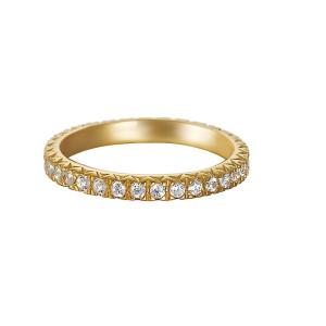 Esprit Damenschmuck Ring Zirkonia gold