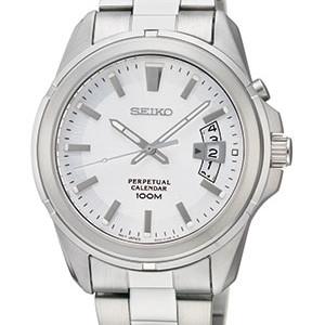 Seiko Herren-Armbanduhr aus Edelstahl mit Saphirglas